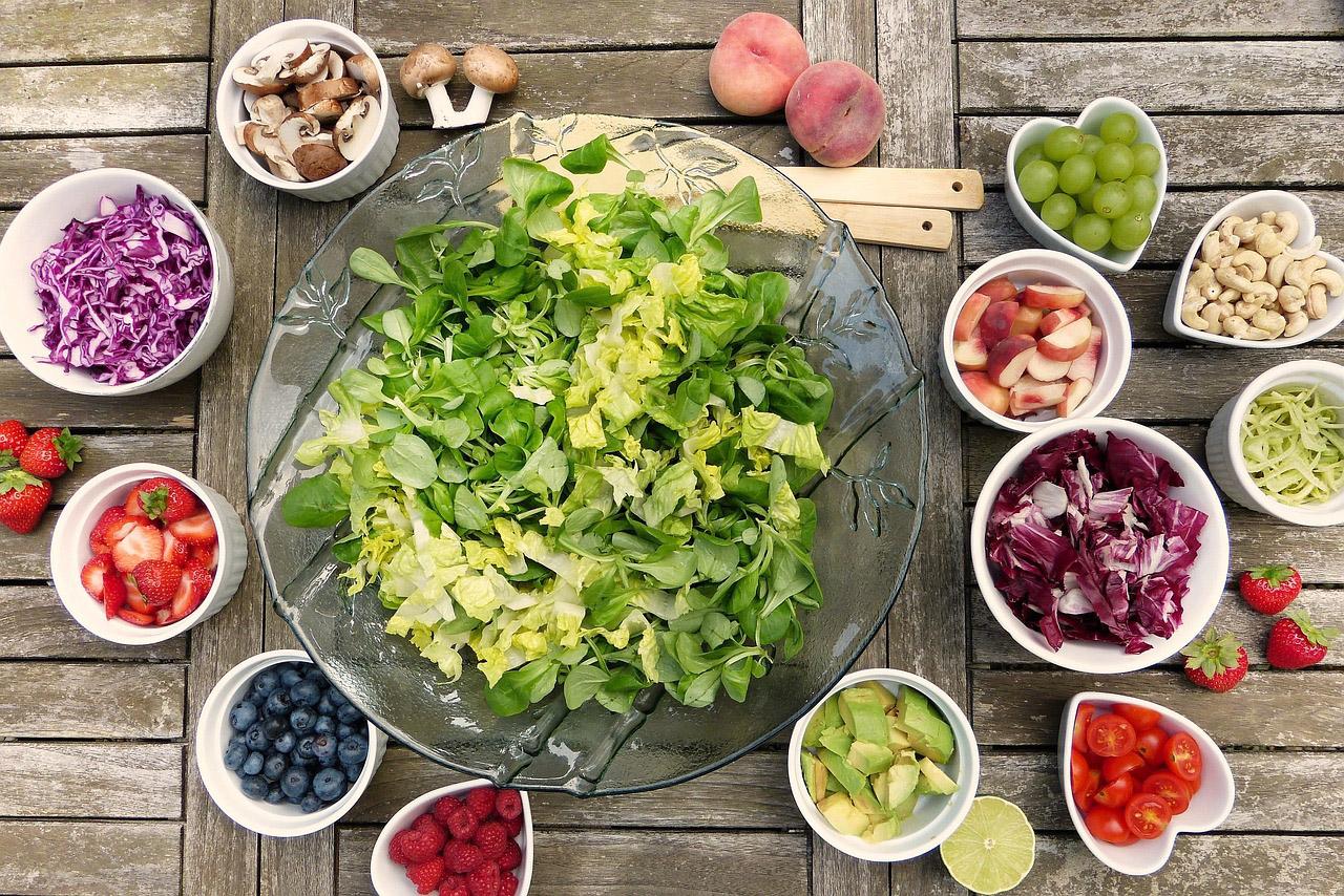 zdrowa dieta - składniki